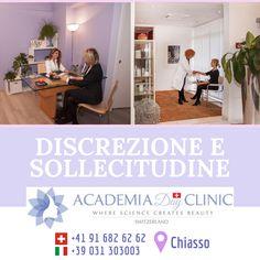 Academia Day Clinic 📍 Chiasso 📍  Discrezione e sollecitudine  Academia Day Clinic ti segue con discrezione e sollecitudine, anche dopo i trattamenti con un servizio su misura per voi. =========== http://www.academiadayclinic.ch/it ===========  #chirurgiaesteticalugano #chirurgiaesteticasvizzeraprezzi #lacliniquecosti #lacliniquelugano #lacliniquesvizzera #medicinaesteticachiasso #centriesteticichiasso #rinoplasticaticinoprezzi #botoxlugano #chirurgiaesteticalugano…