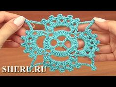 Crochet Square Motif Pattern Tutorial 15 часть 1 из 2 Мотив крючком - YouTube