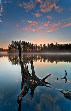 Nuuksio National Park, Espoo - Only half an hour from Helsinki ! Lappland, Reflection Photography, Landscape Photography, Helsinki, Example Of Reflection, Beautiful World, Beautiful Places, Parque Natural, Seen