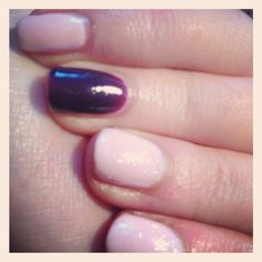 Shellac nails  By Louise Leake