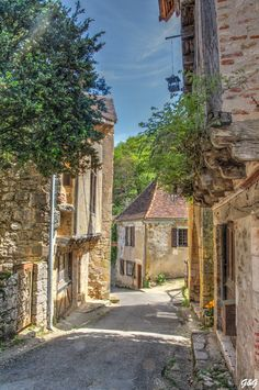 Saint Cirq Lapopie - photo by Giotti&Giordano