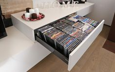 Blum CD/DVD Storage