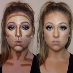 How to contourhighlight nose contouring hacks tips kardashian how to contour and highlight your face using cream products contouring and highlighting with makeup hacks tips tricks tutorials ccuart Images