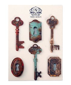 Another great find on #zulily! Key Magnet Set by VIP International #zulilyfinds