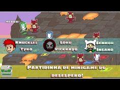 Curtinha - Minigame de Castle Crashers do Desespero