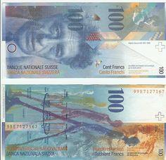 Switzerland, 100 Francs