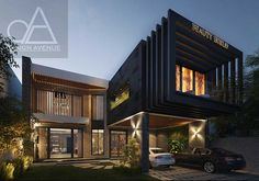 Project Beauty World Cosmetics Location Johar Town –Lahore ,Pakistan Typology Commercial/Healthcare Category Renovation Plot Size 1 kanal Lahore Pakistan, Design Firms, Ground Floor, Old Houses, Exterior Design, Contemporary Design, Facade, Architecture Design, Cool Designs