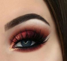 55 most sexy and eye catching orange makeup tips for prom and weekend party 💖 𝙄𝙛 𝙔𝙤𝙪 𝙇𝙞𝙠𝙚 𝙅𝙪𝙨𝙩 𝙁𝙤𝙡𝙡𝙤𝙬 𝙐𝙨 💖 💋 makeup 💋 orangemakeup 💋 prommakeup 💋 makeuptips 💋 weddingmakeup 💋 weddingmakeupideas 💋 hope you like these co Makeup Eye Looks, Smokey Eye Makeup, Cute Makeup, Gorgeous Makeup, Eyeshadow Makeup, Hair Makeup, Makeup For Prom, Eyeshadow Palette, Party Eye Makeup