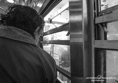 Passenger. F Line on Market Street, San Francisco. Jon Wollenhaupt Photography. Copyright Protected. All rights reserved.