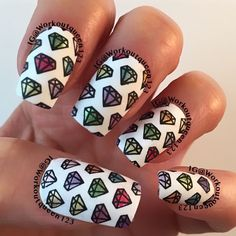 The 241 Best Nails With Diamond Images On Pinterest In 2018