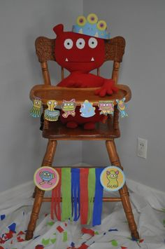 decorate the high chair