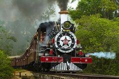 Trem de São João Del Rei (MG) Bonde, Paraiba, Steam Locomotive, Thundercats, Wheels, Train Rides, Sea Level, Paths, Fotografia