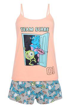 Primark - Womens Monsters Inc Pyjama Set Cute Pajama Sets, Cute Pjs, Pajama Outfits, Disney Outfits, Cute Pijamas, Primark Pyjamas, Disney Pajamas, Cute Sleepwear, Cute Lazy Outfits