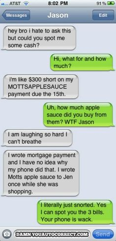 Damn You Auto Correct Reveals 9 Funniest Texts of the Year
