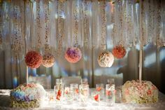 The Debut Show at Lifetime Weddings & Events. Love the whimsy!