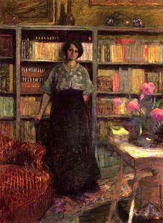 bofransson:  Portrait of Mademoiselle Jacqueline Fontaine (study) Edouard Vuillard - 1911