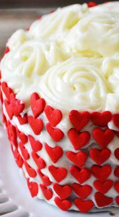 red velvet chocolate marble cake