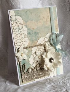 Riddersholm Design: Loooove glitter