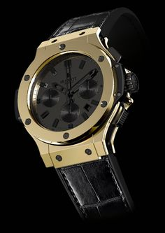 """first @Hublot watch made of """"magic gold"""" to be presented at @baselworld 2012"""
