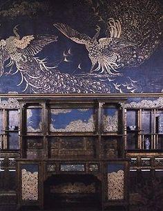 The Peacock Room, Freer's house, Washington, James Abbott McNeill Whistler.    (via mystic-lady)