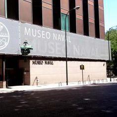 The entrance of El Museo Naval, Madrid...