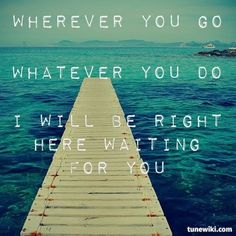 "-- #LyricArt for ""Right Here Waiting"" by Richard Marx"