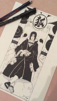 Naruto Sketch Drawing, Anime Boy Sketch, Naruto Drawings, Naruto Art, Manga Drawing, Anime Naruto, Genos Wallpaper, Naruto Wallpaper, Naruto Painting