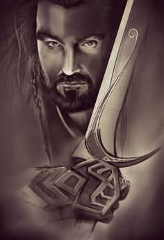 The Hobbit - Thorin Oakenshield by geekyglassesartist.deviantart.com on @deviantART