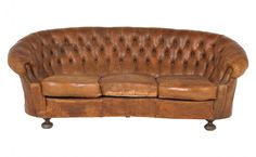 Wasn't this from the set of Legends of the Fall? Antique leather sofa, circa 1920. $6495