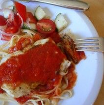 Quick Grilled Herb Chicken Parmesan recipe | amycaseycooks