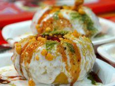 Raj Kachori Refreshing and delicious Rajasthani Chaat.