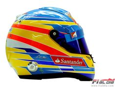 Casco F.Alonso 2012