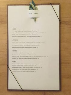 Cafe Menu Design, Menu Card Design, Food Menu Design, Stationary Design, Restaurant Menu Card, Restaurant Menu Design, Restaurant Branding, Spa Menu, Menu Layout