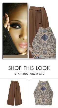 """""""Sem título #660"""" by elaine-ao-souza ❤ liked on Polyvore featuring Tome, TFNC and Christian Louboutin"""