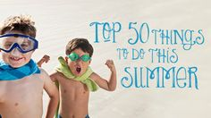 top 50 things to do with kids this summer in sydney