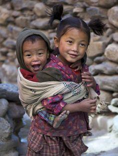 Children arounbd the world ~ Himalayas