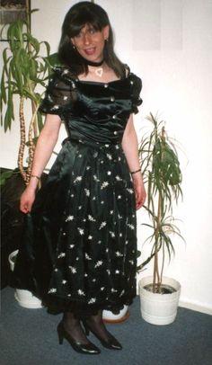 Martina, black is beautifull Dirndl festlich