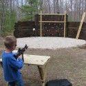 Using Railroad Ties To Build A Shooting Range
