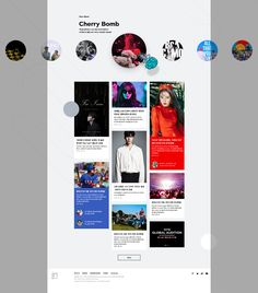 CRAFIK. » SMTOWN Web Poster Design Layout, Website Design Layout, Homepage Design, Web Layout, Website Design Inspiration, App Design, Newsletter Design, Web Design Examples, Creative Web Design