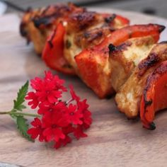 Tequila-Lime Glazed Chicken Skewers