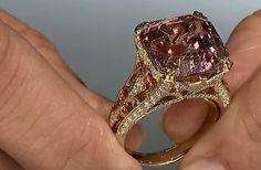 #HeadoverHeels: #Magnificent #Morganite ring by @Gem_KatFlorence. Just #perfect…