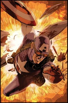 Captain America by Mitch and Bettie Breitweiser