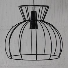 Industrial chic metal lampshade frame to make a statement watt industrial wire cage lamp homemakingheaven 3 greentooth Choice Image