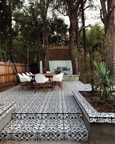 Garden Tiles, Patio Tiles, Outdoor Tiles Patio, Outdoor Flooring, Outdoor Patterned Tiles, Terrace Tiles, Outdoor Rooms, Outdoor Living, Outdoor Decor