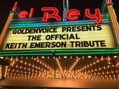 2016: Official Keith Emerson Tribute Concert