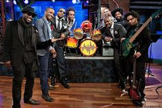 Animal and The Roots on Late Night with Jimmy Fallon