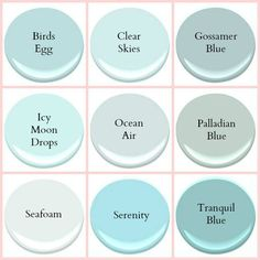 Benjamin Moore Coastal Colors