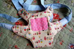 oliver+s doll carrier