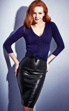 Wang redhead pencil skirt gallery