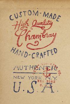 old lettering